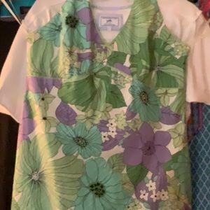 Women's halter print dress